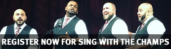 Register now for Sing with the Champs